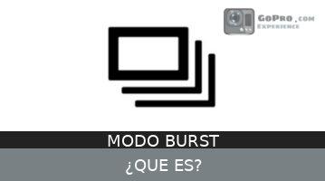 Modo Burst (Ráfaga o Disparo Múltiple)