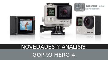 GoPro Hero4 – Novedades y análisis…
