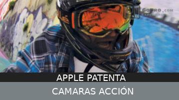 Apple consigue una patente para cámaras de acción