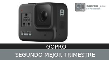 La Hero 8 lleva a GoPro al segundo mejor trimestre de la compañia