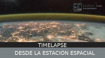 Timelapse de la Tierra Grabado des de la estación espacial