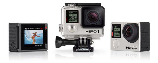 GoPro Hero4 Silver Black