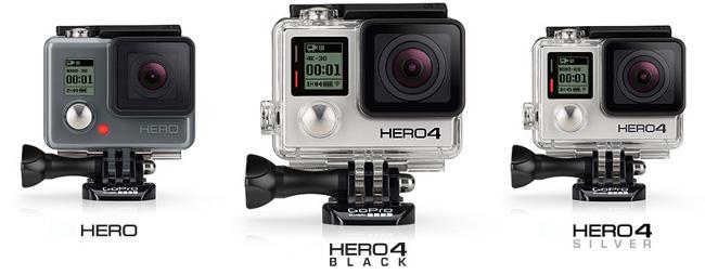 Gopro Hero, Hero4 y black