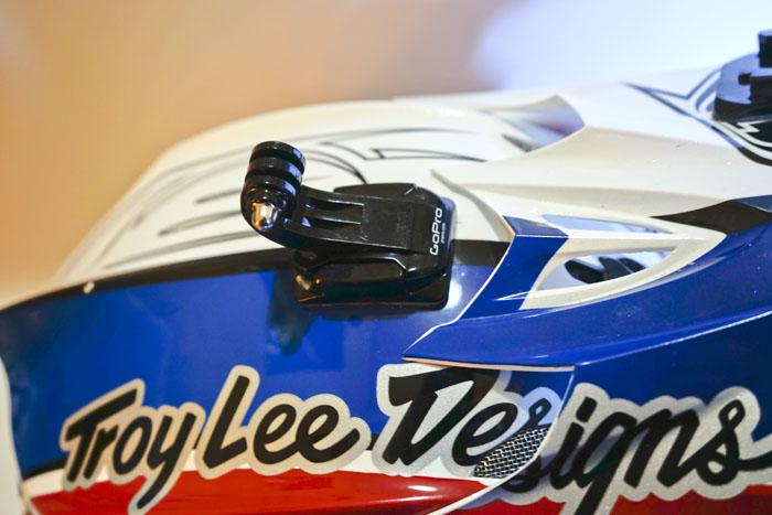 GoPro casco