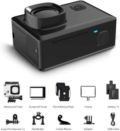 accesorios victure action camera 900 4K