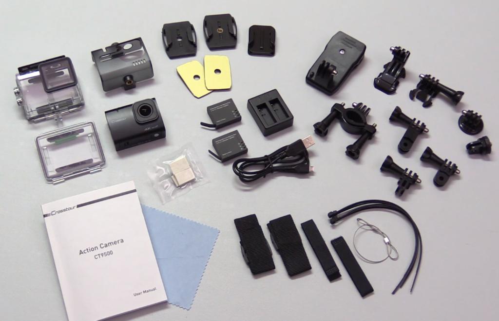 Accesorios cámara deportiva crosstour ct9500