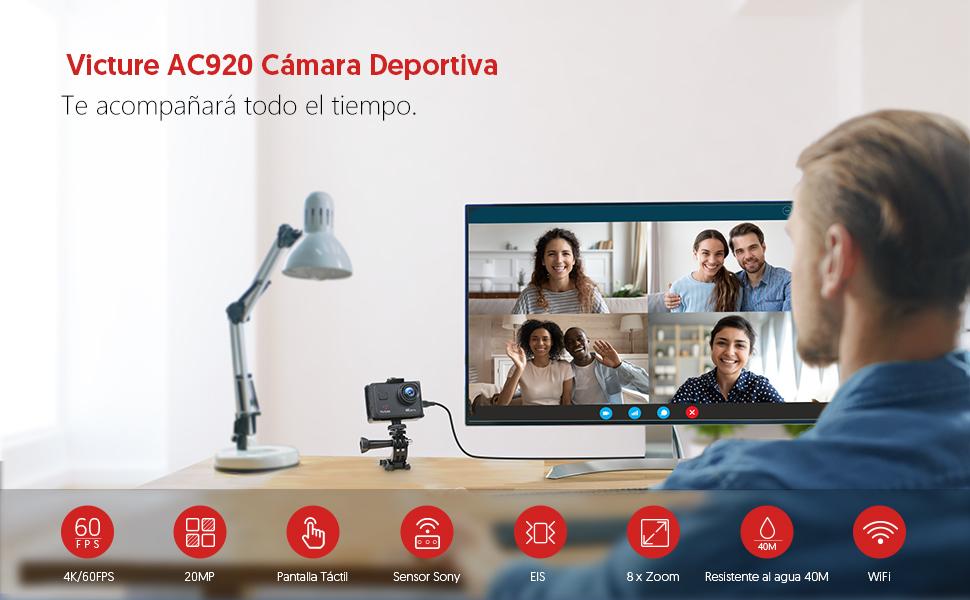 descripción cámara Victure AC700